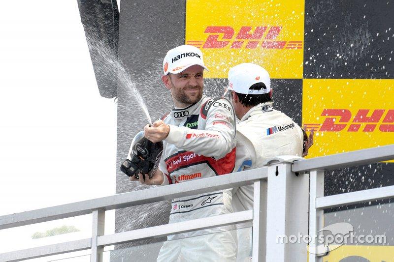Podium, Jamie Green, Audi Sport Team Rosberg