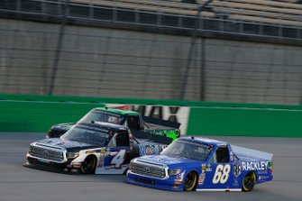 Clay Greenfield, Clay Greenfield Motorsports, Toyota Tundra Rackley Roofing Todd Gilliland, Kyle Busch Motorsports, Toyota Tundra Mobil 1