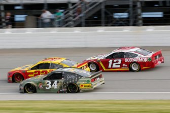 Michael McDowell, Front Row Motorsports, Ford Mustang Love's Travel Stops Joey Logano, Team Penske, Ford Mustang Shell Pennzoil Ryan Blaney, Team Penske, Ford Mustang BodyArmor