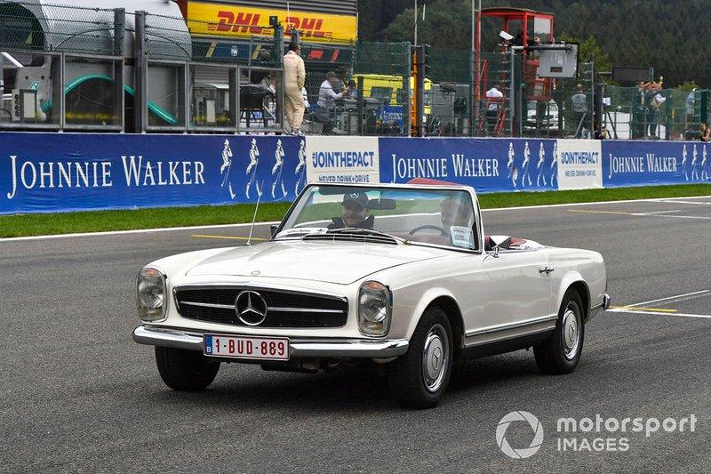 Valtteri Bottas, Mercedes SL W113