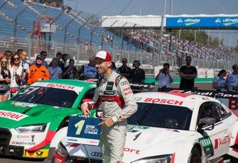 Yarış galibi René Rast, Audi Sport Team Rosberg