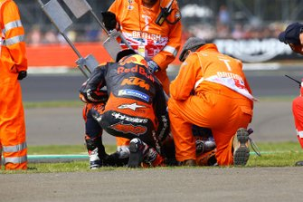 Johann Zarco, Red Bull KTM Factory Racing, Miguel Oliveira, Red Bull KTM Tech 3 after the crash