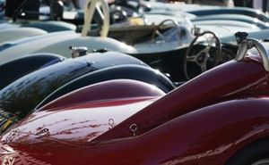1950s Sports Cars in the Freddie March Memorial Trophy