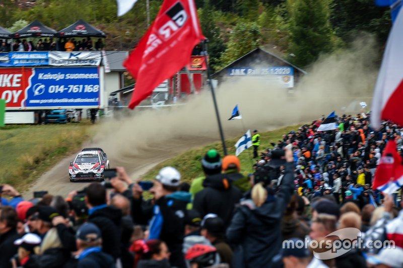 9. Rally de Finlandia 2019: 122,48 km/h