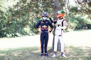 Juri Vips, Hitech Grand Prix and Leonardo Pulcini, Hitech Grand Prix