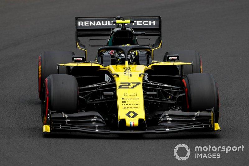 11: Nico Hulkenberg, Renault F1 Team, 1min16s565