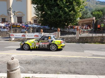 Andrea Nucita, Loran, Abarth 124 Rally