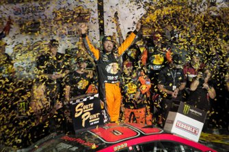Race Winner Martin Truex Jr., Joe Gibbs Racing, Toyota Camry