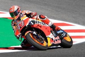 Marc Marquez, Repsol Honda Team, after crash