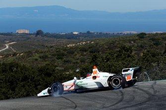Colton Herta, Harding Steinbrenner Racing Honda spint in de Corkscrew