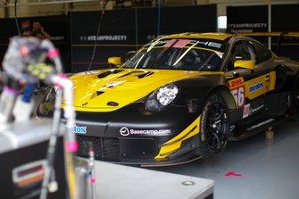 #56 Team Project 1 - Porsche 911 RSR: Egidio Perfetti, David Heinemeier Hansson, Matteo Cairoli