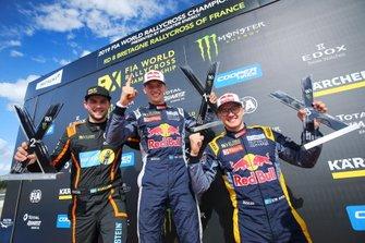 Podyum: Yarış galibi Timmy Hansen, Team Hansen MJP, 2. Anton Marklund, GC Competition, 3. Kevin Hansen, Team Hansen MJP