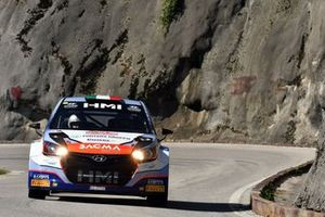 Luigi Fontana, Giovanni Agnese, Hyundai i20 WRC, Bluthunder