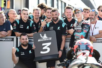 Terzo classificato Fabio Quartararo, Petronas Yamaha SRT