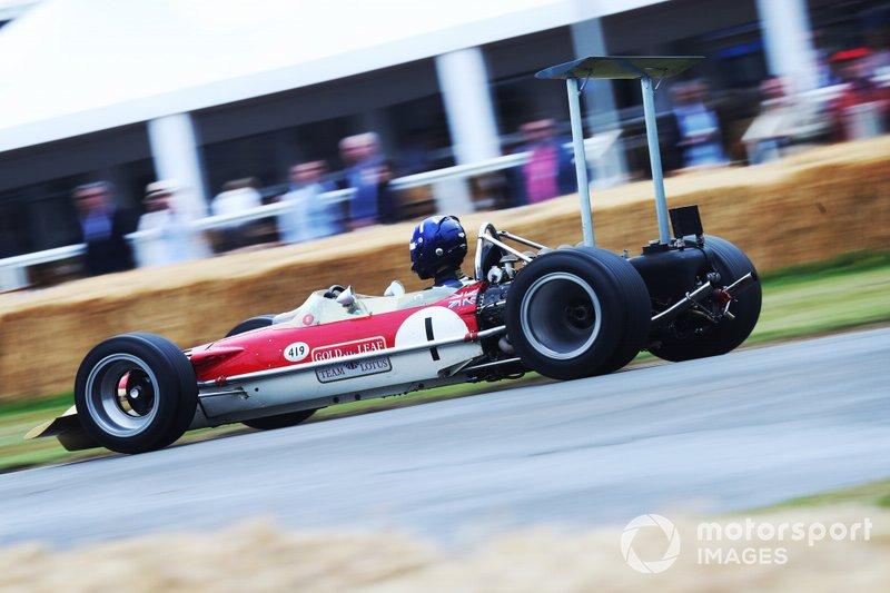 Josh Hill, Lotus 49