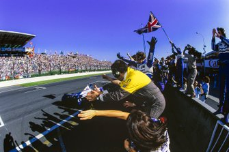 1. Damon Hill, Williams FW18