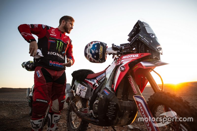 #5 Monster Energy Honda Team: Ricky Brabec