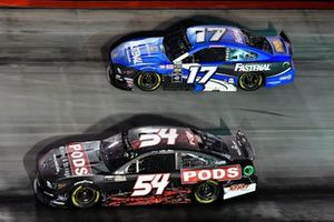 JJ Yeley, Rick Ware, Ford Mustang SLAYER and Ricky Stenhouse Jr., Roush Fenway Racing, Ford Mustang Fastenal