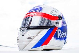 Le casque de Daniil Kvyat, Toro Rosso