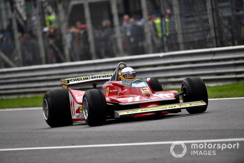 Jody Scheckter im Ferrari 312T4