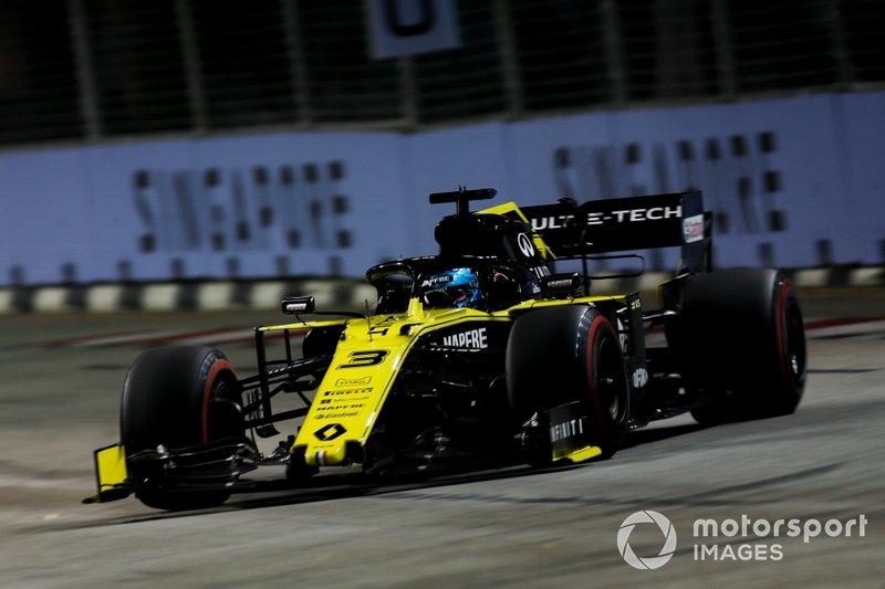 20-е место: Даниэль Риккардо, Renault