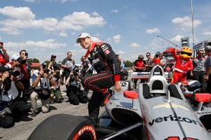 Will Power, Team Penske Chevrolet wins the NTT P1 Award and pole