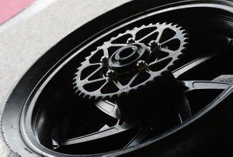 Rear wheel detail