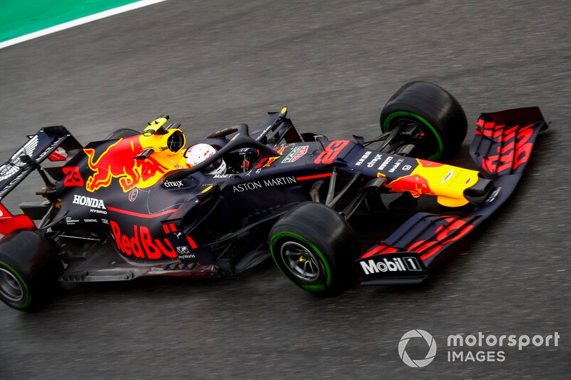 8 - Alex Albon, Red Bull Racing RB15 - Sem tempo no Q3