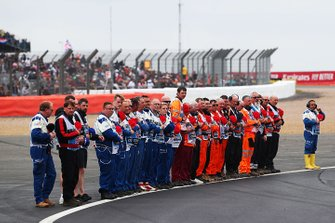 Marshals pay tribute to Charlie Whiting
