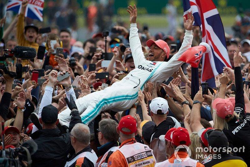 80 - GP de Gran Bretaña 2019, Mercedes