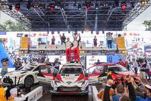 Ott Tänak, Martin Järveoja, Toyota Yaris WRC