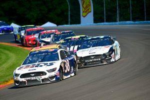 David Ragan, Front Row Motorsports, Ford Mustang MDS Transport, Matt Tifft, Front Row Motorsports, Ford Mustang Maui Jim / Surface Sunscreen