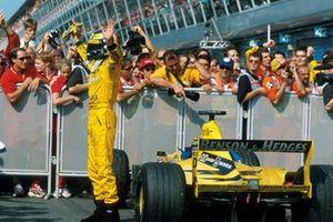 Winner Heinz-Harald Frentzen, Jordan Mugen Honda