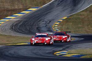 #911 Porsche GT Team Porsche 911 RSR: Patrick Pilet, Nick Tandy, Frederic Makowiecki, #912 Porsche GT Team Porsche 911 RSR: Earl Bamber, Laurens Vanthoor, Mathieu Jaminet
