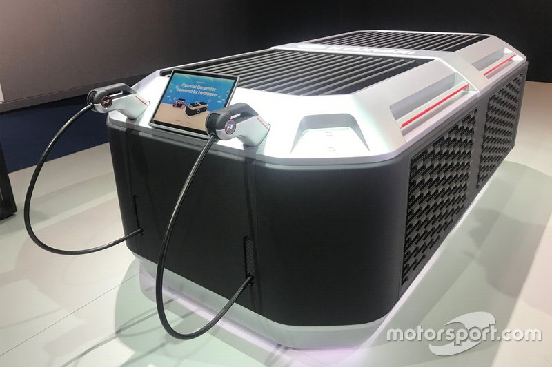 Generatore ad idrogeno della Hyundai al Salone di Francoforte