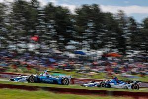 Josef Newgarden, Team Penske Chevrolet, Graham Rahal, Rahal Letterman Lanigan Racing Honda