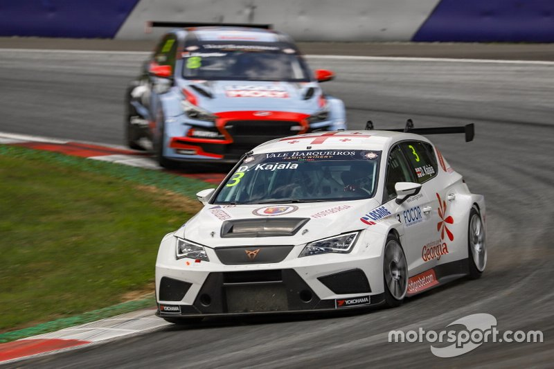 Davit Kajaia, PCR Sport with Georgia CUPRA TCR