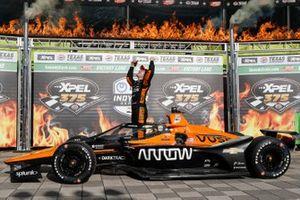 Yarış galibi Patricio O'Ward, Arrow McLaren SP Chevrolet