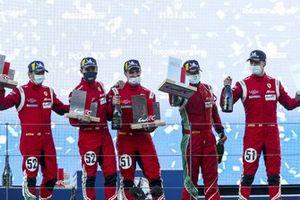 1. GTE-Pro: #51 AF Corse Ferrari 488 GTE EVO: Alessandro Pier Guidi, James Calado, 2. GTE-Pro: #52 AF Corse Ferrari 488 GTE EVO: Daniel Serra, Miguel Molina