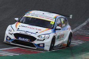 Ollie Jackson, MB Motorsport Ford Focus ST
