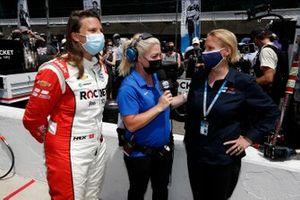 Simona De Silvestro, Paretta Autosport Chevrolet, mit Katie Kiel und Beth Paretta