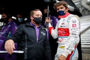 Pietro Fittipaldi, Dale Coyne Racing with RWR Honda with engineer