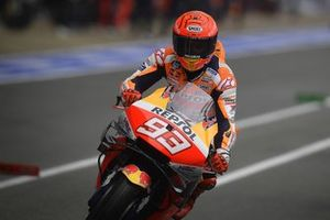Marc Marquez, Repsol Honda Team in the pitlane