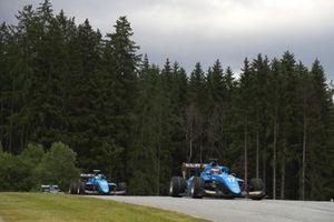 Victor Martins, MP Motorsport, leads Caio Collet, MP Motorsport