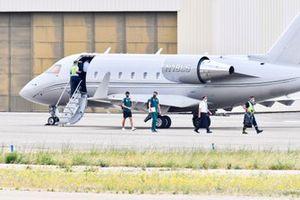Lance Stroll, Aston Martin, lascia il suo jet personale Bombardier Challenger 600-2B16