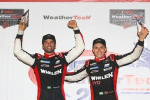 Pipo Derani e Felipe Nasr na etapa de Watkins Glen da IMSA
