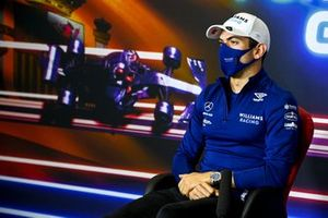 Nicholas Latifi, Williams in the Press Conference