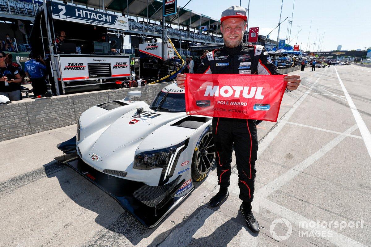 Pole sitter #01 Chip Ganassi Racing Cadillac DPi: Kevin Magnussen