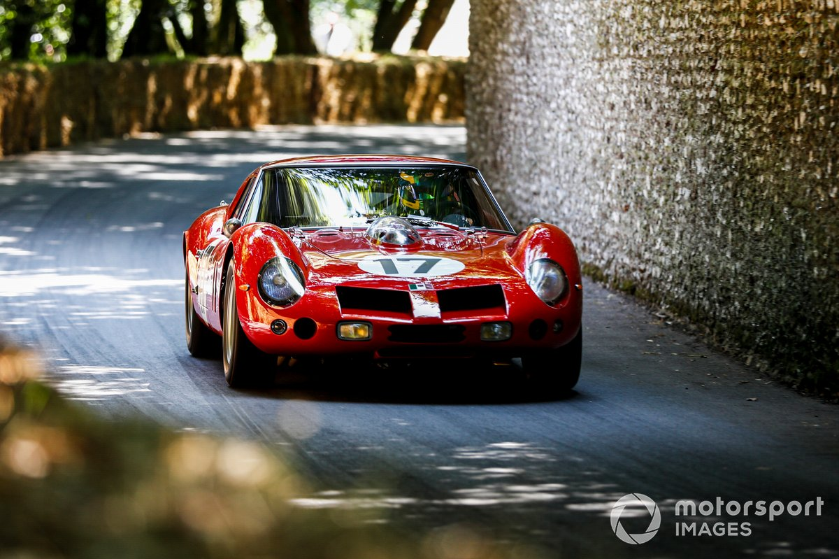 Emanuele Pirro au volant de la Ferrari 250 GT SWB 'Breadvan' (1962)