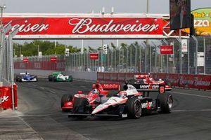 Will Power, Team Penske Chevrolet, Dario Franchitti, Chip Ganassi Racing